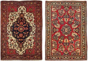 A Sarouk-Feraghan rug & Sarouk