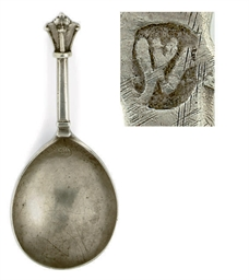 A SCANDINAVIAN SILVER SPOON