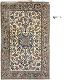 A very fine Nain rug & a Tabri