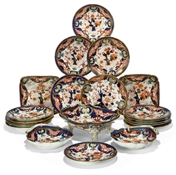 A COALPORT 'JAPAN' PATTERN DES