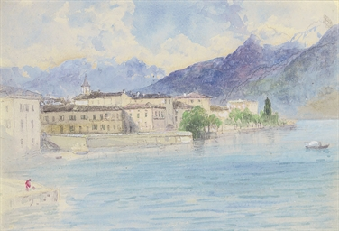 Lake Como, Menaggio (illustrat