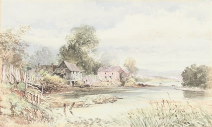 A water mill on the River Earn