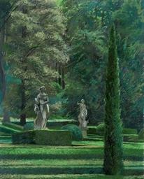 Verona: Guisti Garden I; and G