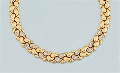 An 18ct. gold and Diamond
