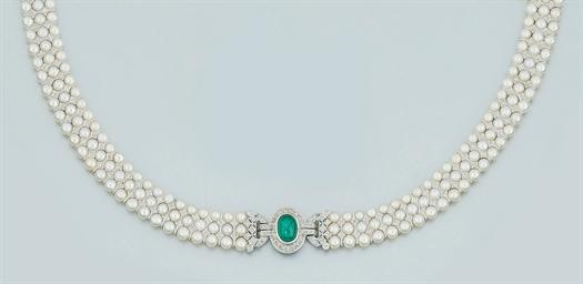 A diamond, emerald and culture