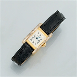 A lady's diamond set quartz wr