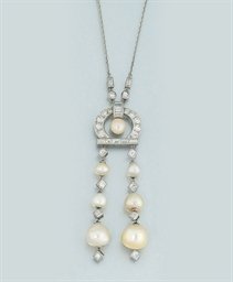 An early 20th century pearl an
