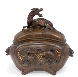 A Bronze Koro [Incense Burner]