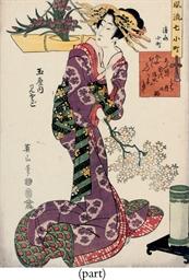 Kikugawa Eizen (1787-1867) Tsu