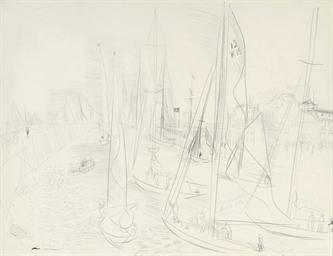 Les yachts à Deauville