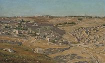 View of Jerusalem from the Hill of Evil Counsel