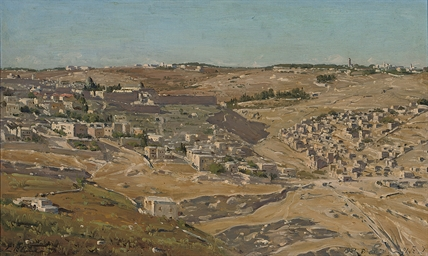 View of Jerusalem from the Hil