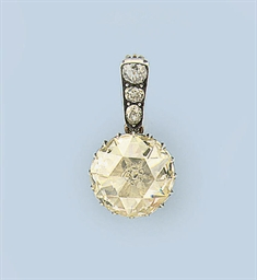A RARE ANTIQUE ROSE-CUT DIAMON