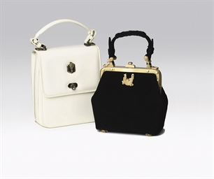 THREE LADY'S HANDBAGS, BY BARR