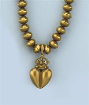 A GOLD NECKLACE, BY BARRY KIESELSTEIN-CORD