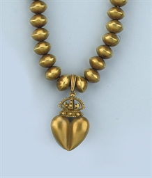 A GOLD NECKLACE, BY BARRY KIES