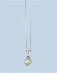 A BELLE EPOQUE CULTURED PEARL