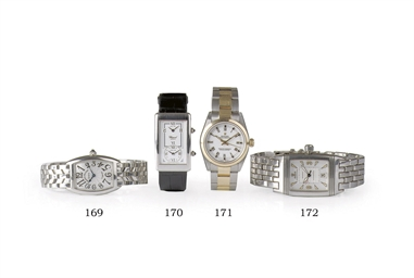 FOUR WRISTWATCHES