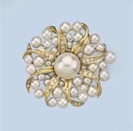 A COLLECTION OF CULTURED PEARL