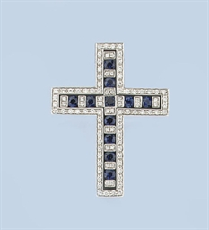 TWO CROSS PENDANTS, BY DAMIANI