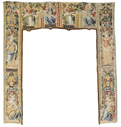 A FRENCH ALLEGORICAL PORTIERE
