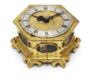 A PRUSSIAN GILT-BRASS GRANDE S