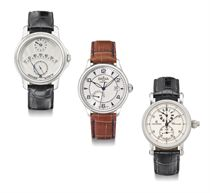 Chronoswiss, Davosa & Nienaber Bünde. A lot of three stainless steel wristwatches