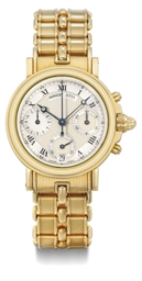 Breguet. An 18K gold automatic