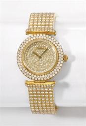 Tabbah. A lady's fine 18K gold