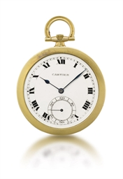 Cartier. A fine and slim 18K g
