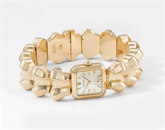 Rolex. A lady's unusual square