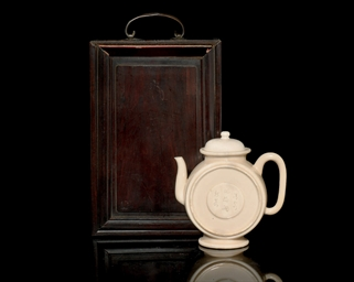A BLANC DE CHINE TEAPOT AND CO