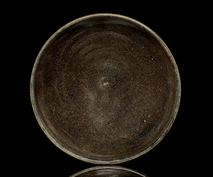 A BLACK GLAZED BOWL, NORTH CHI