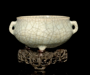 A GUAN TYPE CENSER, EARLY 18TH