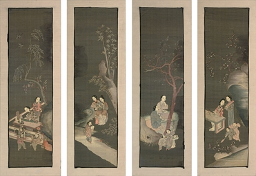 FOUR KESI SCREEN PANELS