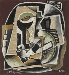 Composition- Cubisme Ornementa
