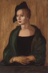 Portrait de la belle M. I
