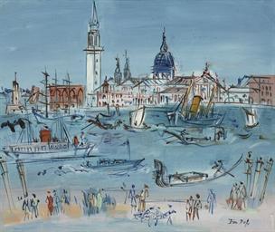 Venise, le bassin de Saint-Mar