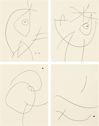 Untitled (III, IV, VII and XIV