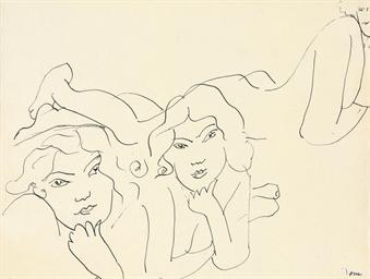 Trois femmes allongées