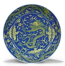 A CHINESE UNDERGLAZE BLUE GROU