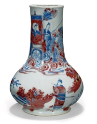A SMALL CHINESE UNDERGLAZE RED