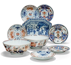 A GROUP OF CHINESE IMARI VESSE