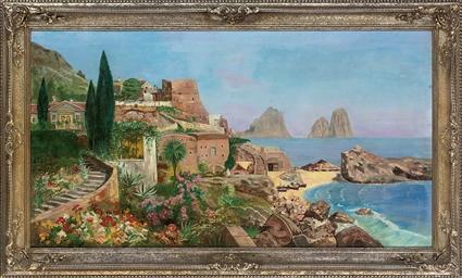 Mediterranean oasis, Capri