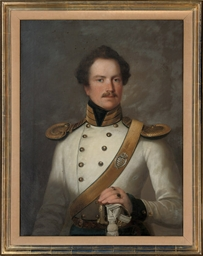 Portrait of an officer of the