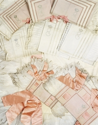 A SET OF FINE LINEN PILLOWCASE