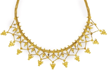 AN ARCHEOLOGICAL REVIVAL NECKL