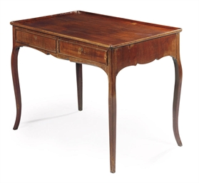 A DUTCH MAHOGANY CENTRE TABLE