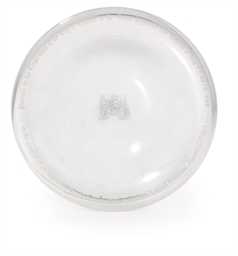 A CANADIAN SILVER DISH
