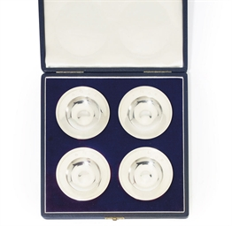 A CASED SET OF FOUR ELIZABETH